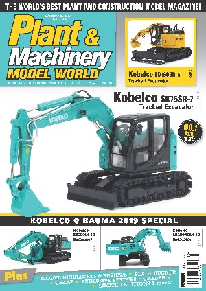 Plant & Machinery Model World (March/April 2019) - Kobelco Cover